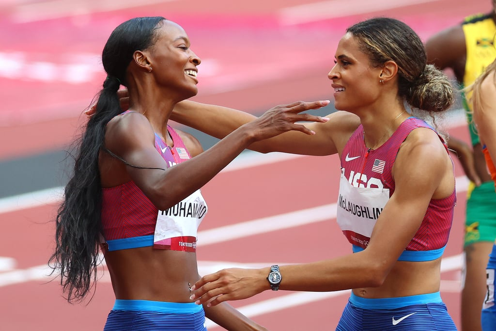 Sydney McLaughlin and Dalilah Muhammad Empower Each Other on and Off the Track