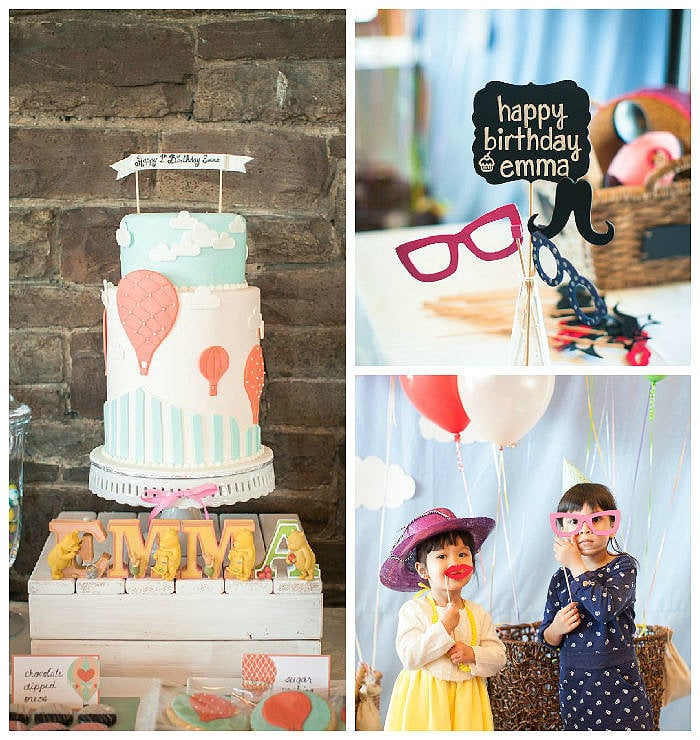 Hot-Air Balloon-Themed Party