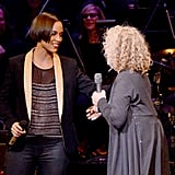 Alicia Keys performed a duet with Carole King.