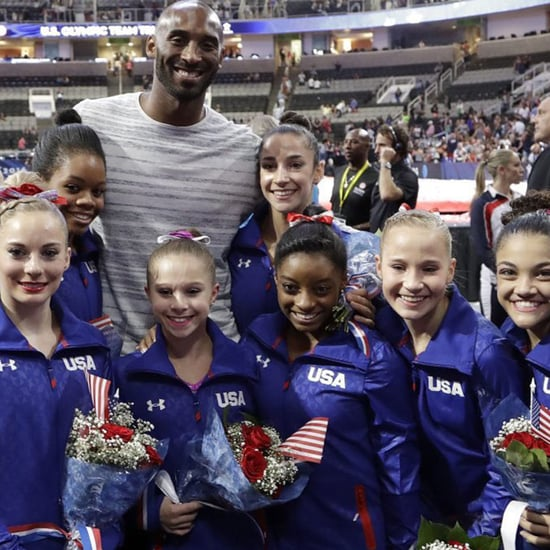 Short Olympic Gymnasts With Tall Athletes | Photos