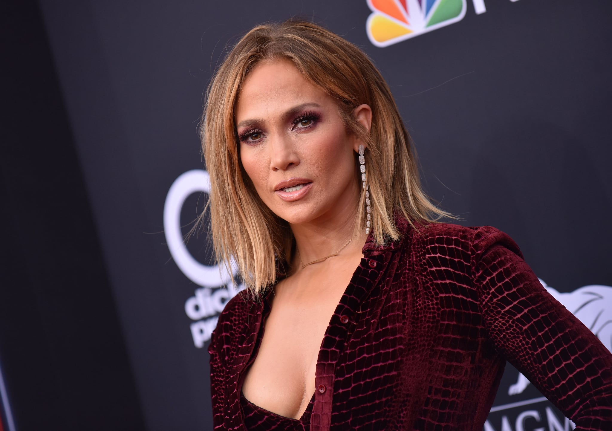 Singer Jennifer Lopez attends the 2018 Billboard Music Awards 2018 at the MGM Grand Resort International on May 20, 2018, in Las Vegas, Nevada (Photo by LISA O'CONNOR / AFP)        (Photo credit should read LISA O'CONNOR/AFP/Getty Images)