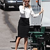 Kate Hudson got back to work on Wish I Was Here in LA on Wednesday.