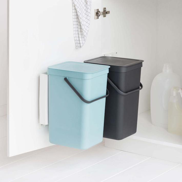 Mini Trash Sorters: Brabantia Built In Trash Can