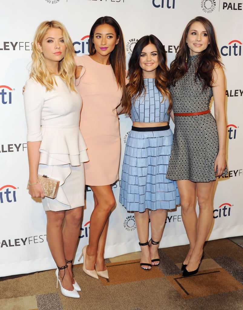 23 Photos of the Pretty Little Liars Girls That Will Give You Serious Squad Envy
