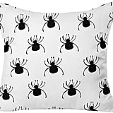 "DENY Designs Allyson Johnson Spiders Throw Pillow — Black (20""x20"") ($50)"