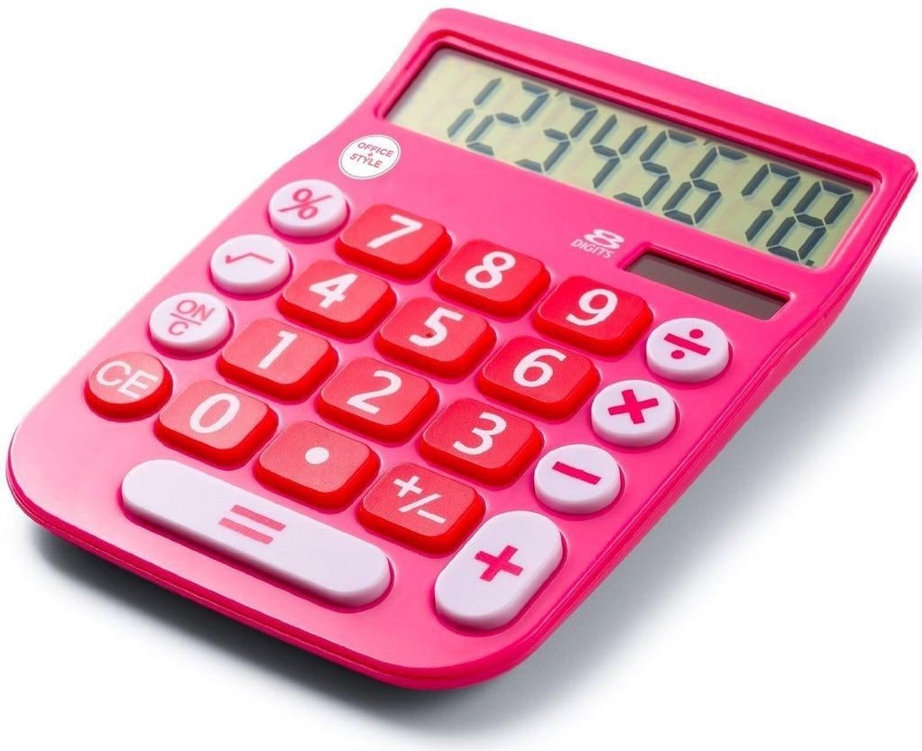 Office+Style 8 Digit Dual Powered Desktop Calculator | Best