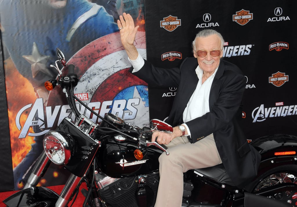 Pictured: Stan Lee