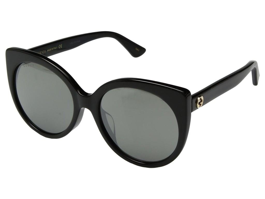 Gucci Round Cat Eye Sunglasses