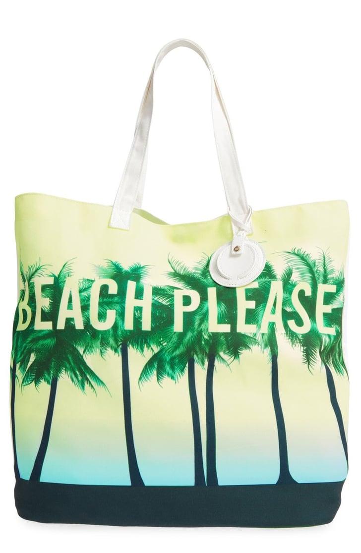 Dirty Ballerina Beach Please Canvas Tote 28 Stylish