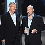 Tom Collichio and Jerry Springer