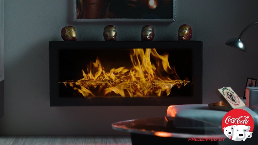 Iron Man's Fireplace