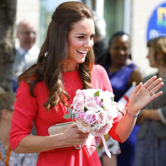 Kate Middleton at Blessed Sacrament School July 2014