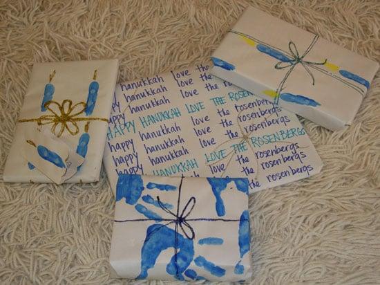 Wrap It Up: Hanukkah Paper
