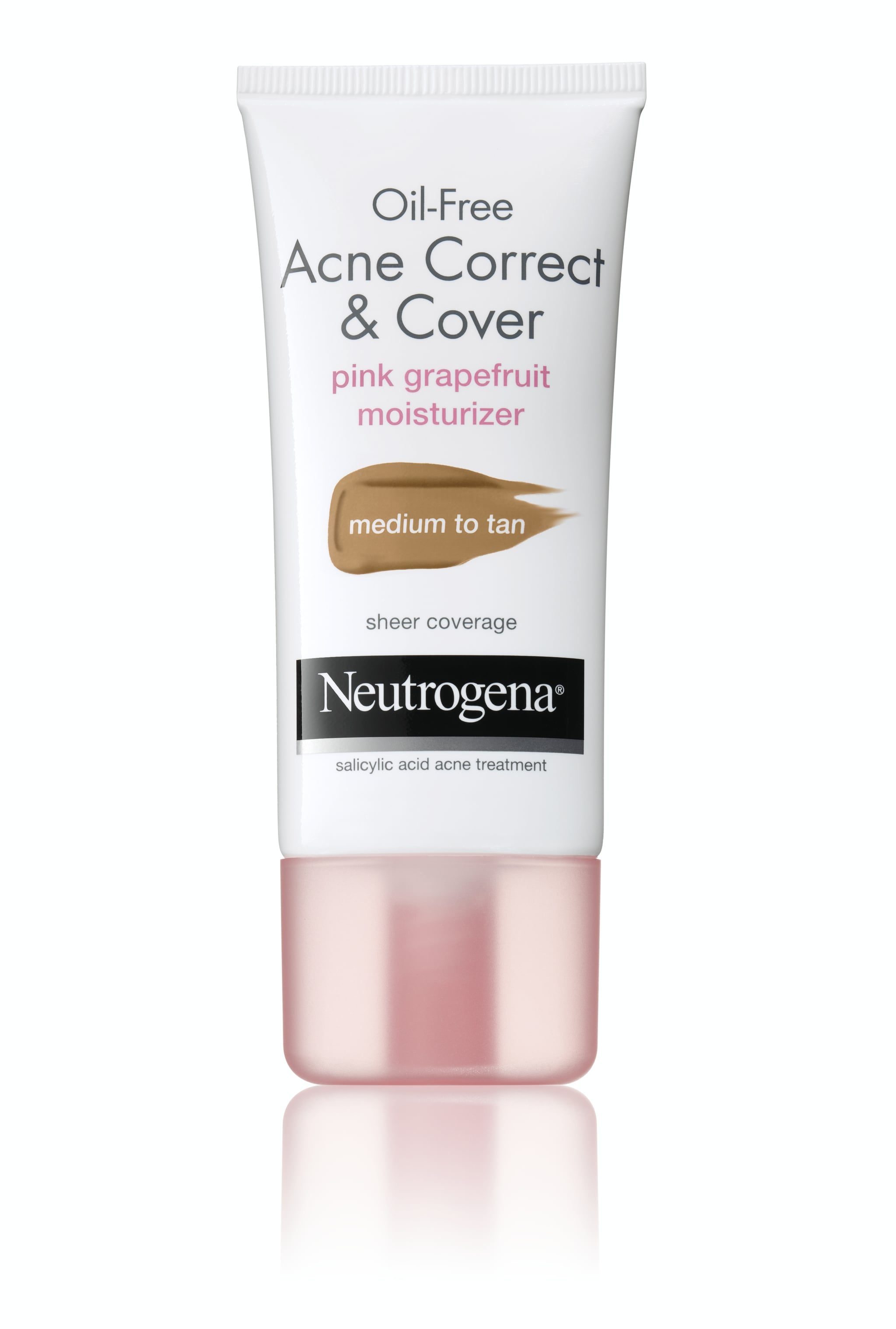 Oil-Free Acne Correct & Cover Pink Grapefruit Moisturizer by Neutrogena #20