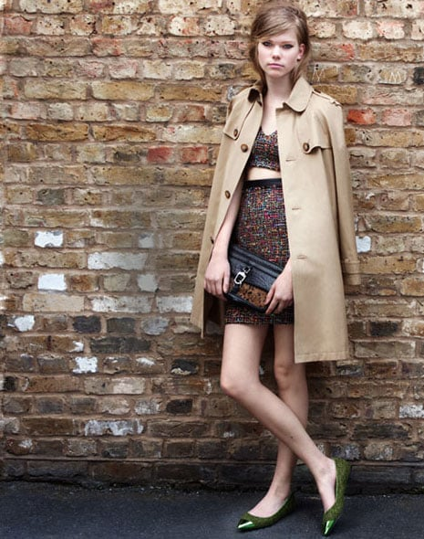 British It Girl Cool Done Right Preview Topshops Autumn Winter 2012 Look Book Before Goes Online