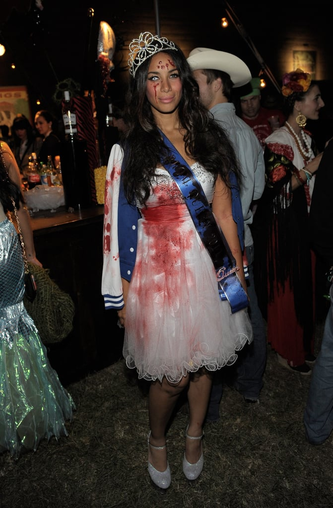 Leona Lewis channeled a prom-queen look gone horribly wrong in 2011.