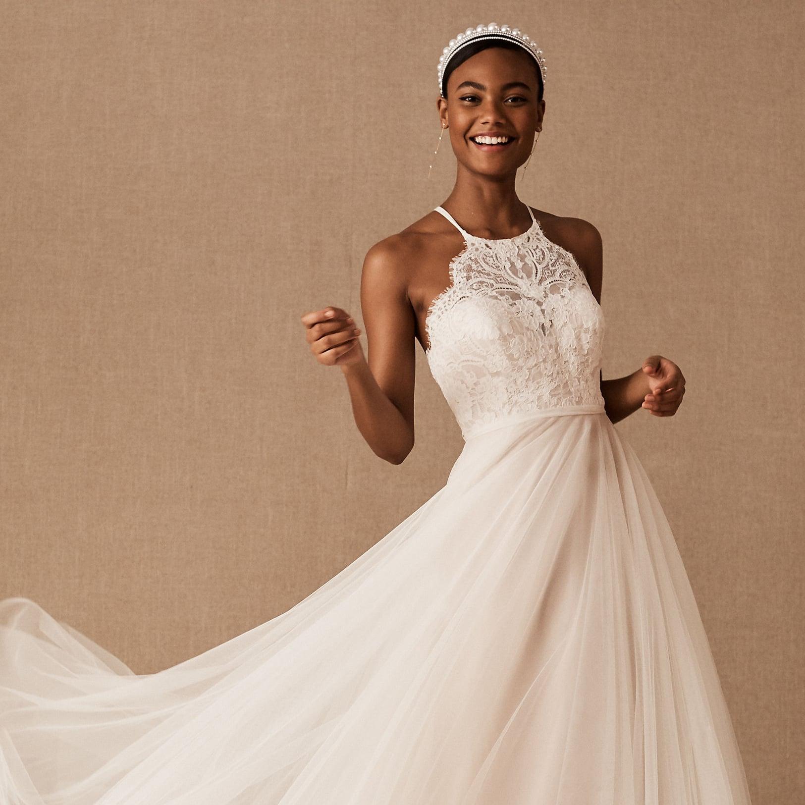 The Best Bhldn Wedding Gowns 2020 Popsugar Fashion