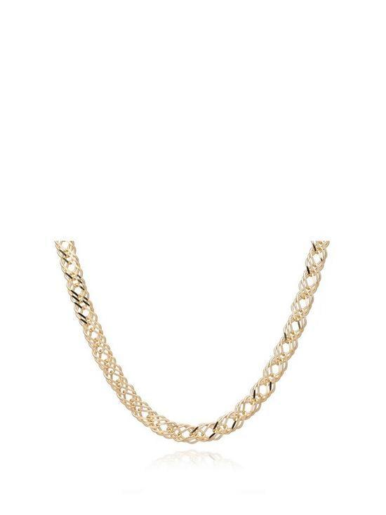 Rachel Jackson London Chevron Curb Necklace