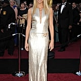 Gwyneth Paltrow in custom Calvin Klein