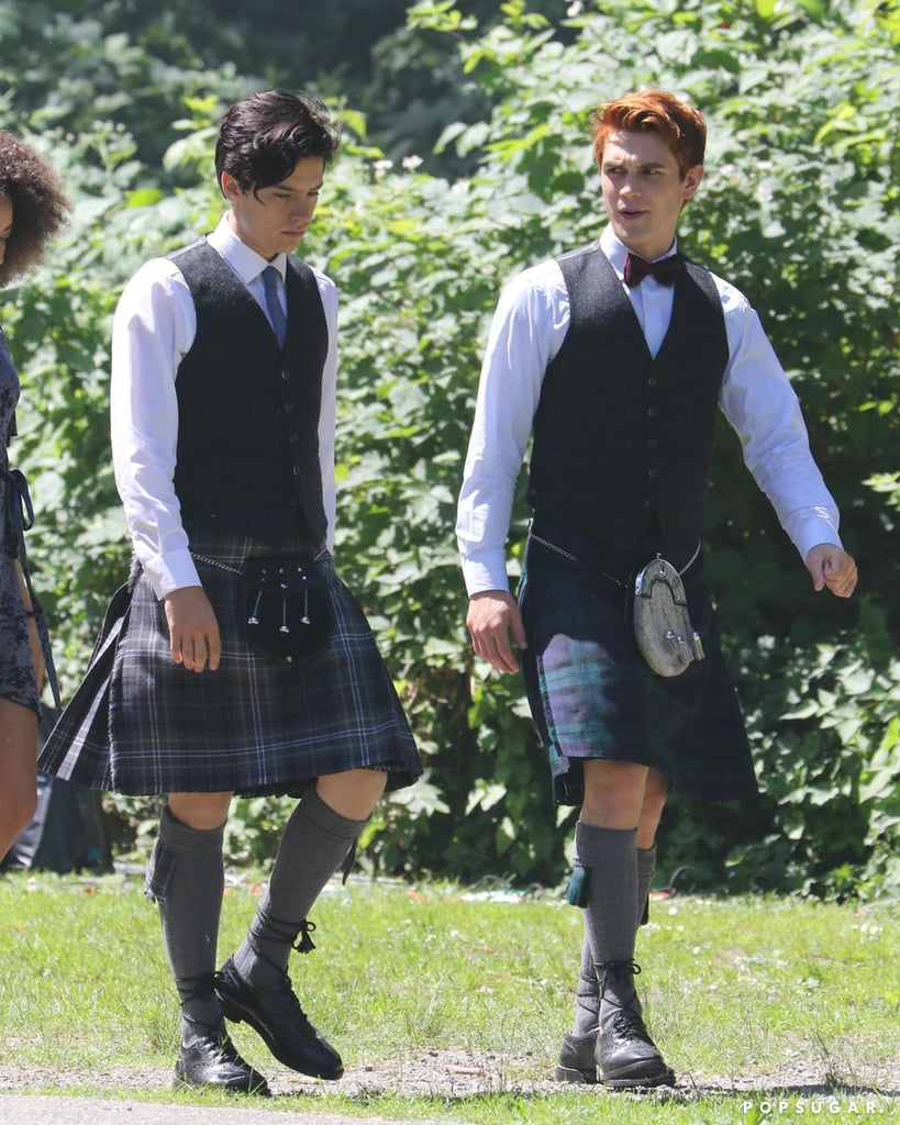 Riverdale: Veronica Is in a Wedding Dress, Archie's in a Kilt, and We're Very Confused