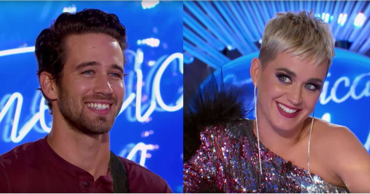 Katy Perry Was VERY Flustered by This Hot American Idol Contestant — Can You Blame Her?