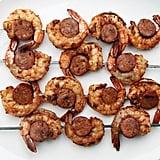 Shrimp and Chorizo Skewers