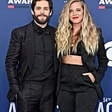 Pictured: Thomas Rhett and Lauren Akins