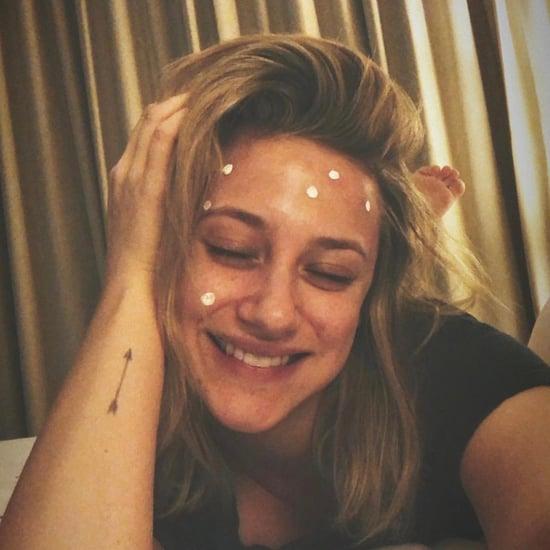 Lili Reinhart Photo of Cystic Acne