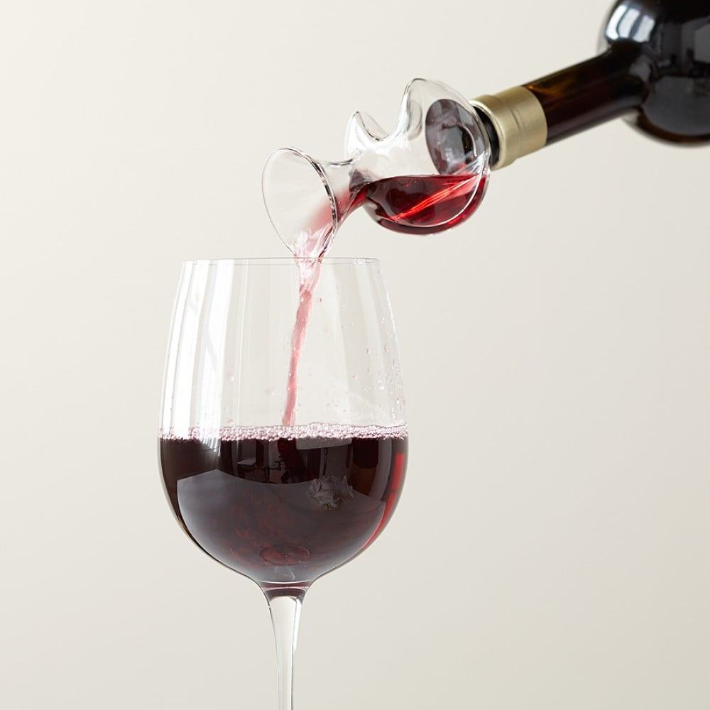 Williams-Sonoma Bottle Top Wine Aerator, $35