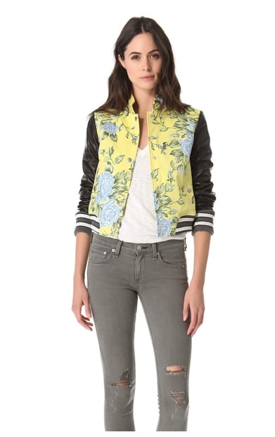 Invest in this sweet-meets-sporty Rag & Bone Cambridge Jacket ($557, originally $795), and we promise you'll wear it through Fall — and for seasons to come.