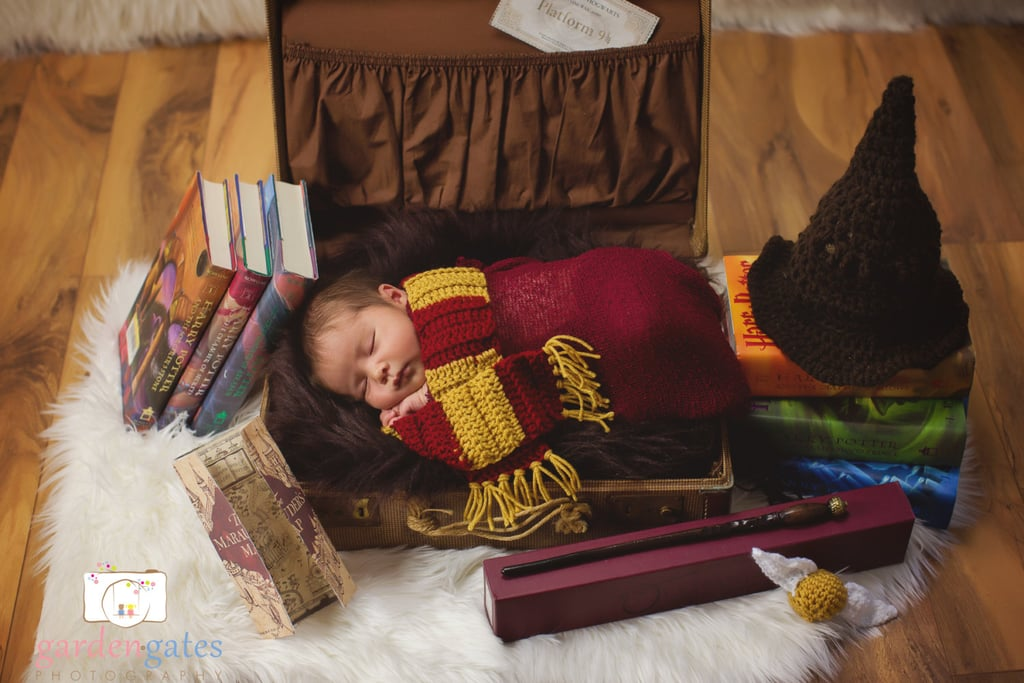 Baby Harry Potter Knit Set & Baby Harry Potter Knit Set | Easy DIY Harry Potter Halloween Costume ...