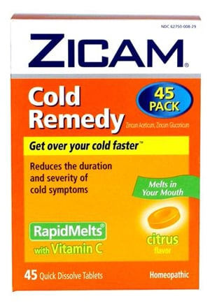 Zinc Helps Shorten Colds, Study Says