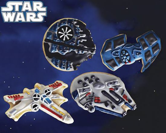 Star Wars Vehicle Cookies