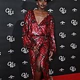 Lupita Nyong'o, Winston Duke at Us Screening in London 2019