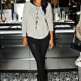 Hannah Bronfman at the Red Door Spa opening in New York.