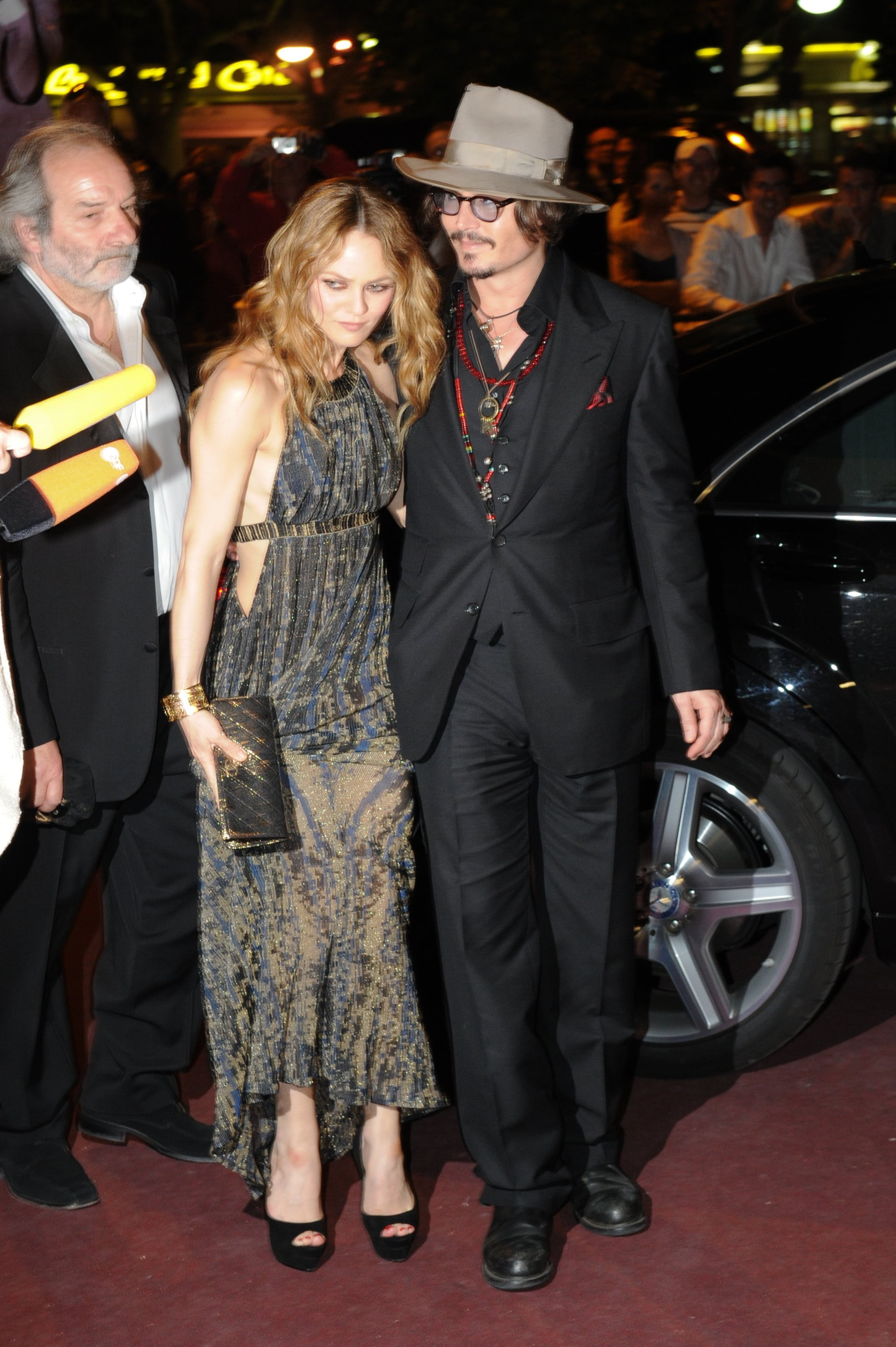 Pictures of Johnny Depp and Vanessa Paradis at Chanel ... ванесса паради