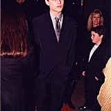Leonardo DiCaprio looked serious at Titanic's Hollywood premiere at Grauman's Chinese Theatre on Sept. 6, 1997.