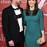 The couple shared a laugh on the red carpet at a special event in NYC in October 2015.