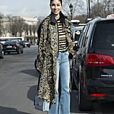 As the foundation of a polished mixed-prints look
