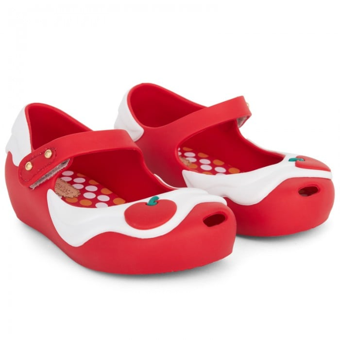 Mini Melissa Red Cupcake Mary-Janes
