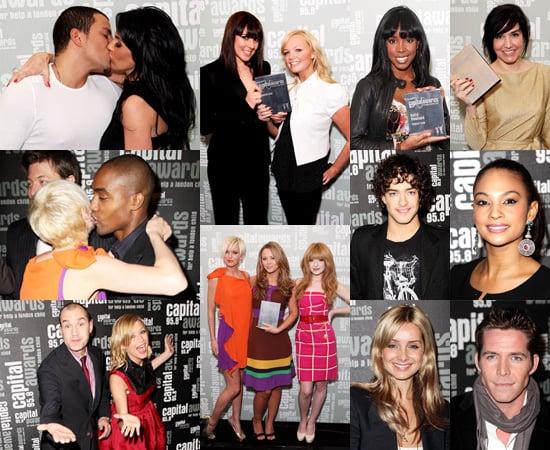 Girls Aloud, Spice Girls, and Jordan and Peter at the Capital Radio Awards 2008
