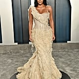 Kim Kardashian West at the Vanity Fair Oscars Afterparty 2020