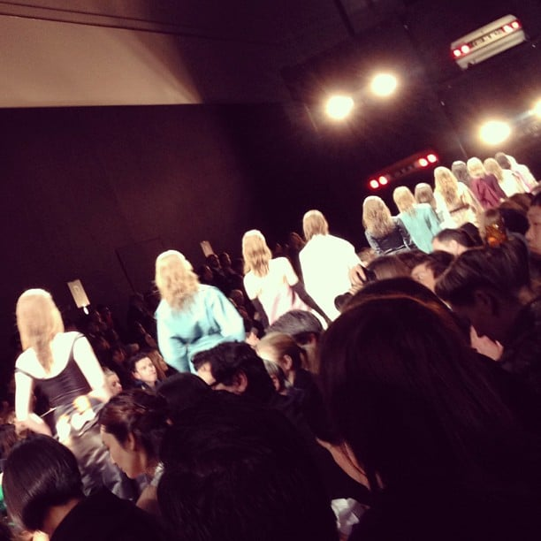 The finale at Carven.