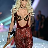 And Made Her Victoria's Secret Fashion Show Debut