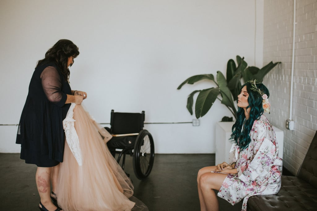 This Beautiful Bride Stood From Her Wheelchair and Walked Down the Aisle