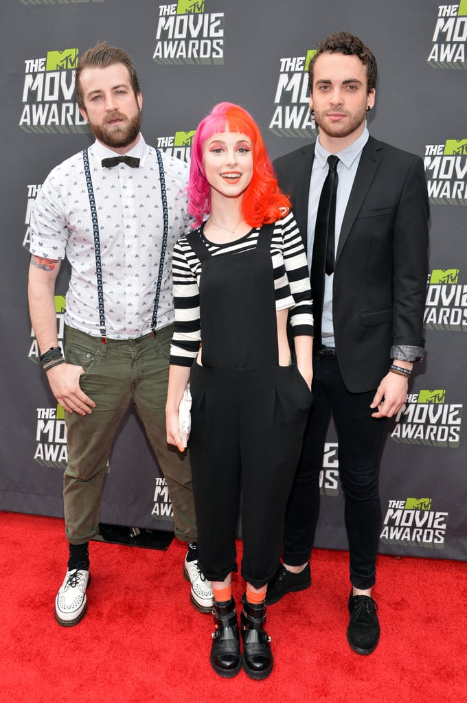 Jeremy Davis, Hayley Williams and Taylor York