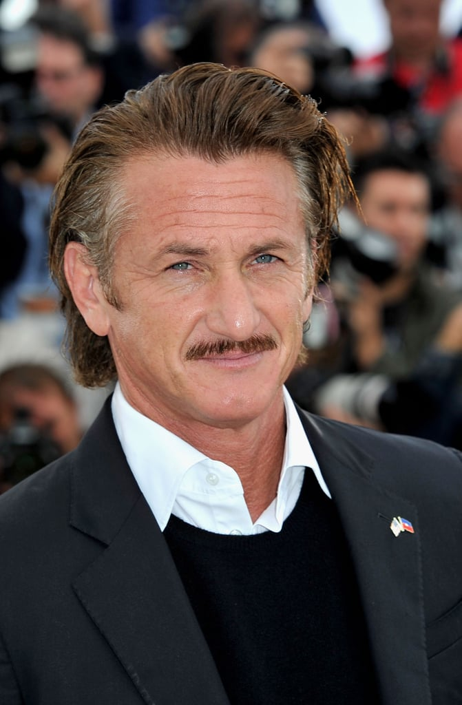 Sean Penn arrived at the Cannes Film Festival.