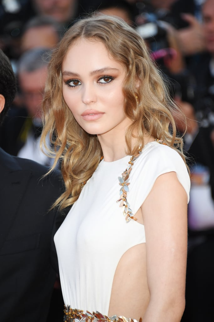 Lilly-Rose Depp Looked Like a Grecian Goddess in a Chanel Gown That Featured Side Cut-Outs