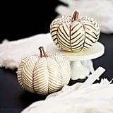 Herringbone Pumpkins