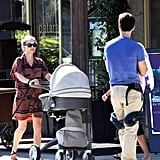 Natalie Portman Fawns Over Adorable Baby Aleph and Shares a Loving Stroll With Benjamin in Switzerland!